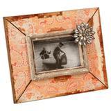 Porta-Retrato de Madeira Decorativo Huske com detalhe de Pedras - Maria pia casa
