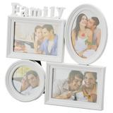 Porta Retrato Family Branco - Prestige