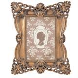 Porta Retrato Retangular Candy Realeza Mart Collection 10x15cm Cobre