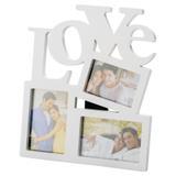 Porta Retrato Trio Love Branco - Prestige