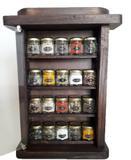 Porta Temperos / Condimentos Armarinho pote pequeno - Bella art in madeira