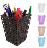 Porta Treco Objeto Quadrado De Plastico Rattan Trama Colors - Fu xing