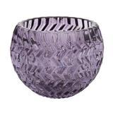 Porta vela winter boho texture 9 cm rx n - Home style