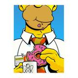 Poster Adesivo Homer Simpson 70x50 cm - Sunset adesivos