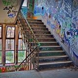 Pôster Escada grafitada - Psi7