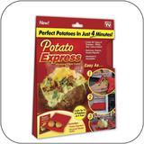 Potato Express da Shoppstore Saco p/Batatas e Legumes Cozidos em Minutos Original Potato Express