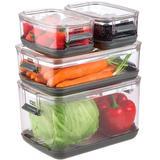 Pote Para Armazenar Frutas e Vegetais r  2,8L Com Ventilação de Ar - Precinho justo hu