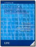 Pratica da estatistica empresarial, a acompanha cd - Ltc editora