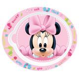 Pratinho Plástico - Oval - Disney - Minnie Mouse - New Toys