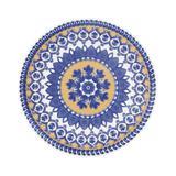Prato de Cerâmica Fundo 23cm Floreal Oxford La Carreta
