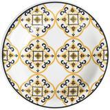 Prato de Cerâmica Fundo 23cm Floreal São Luís Oxford