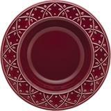 Prato de Cerâmica Fundo 23cm Mendi Oxford Corvina