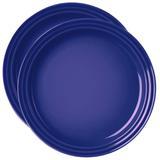 Prato de cerâmica Le Creuset azul cobalto 15 cm 2 peças - 23298