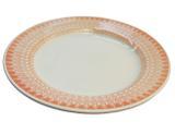 Prato de Porcelana para Sobremesa Decorado Donna Aurora Biona Oxford - 18 Cm