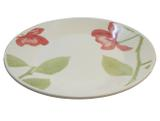 Prato de Porcelana Raso Decorado Beauty Actual Biona Oxford - 26 Cm