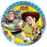 Prato Descartável Redondo Toy Story 08 unidades Regina Festas