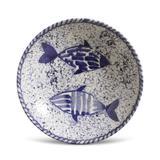 Prato Fundo Coup Fish Cerâmica 6 Peças Porto Brasil