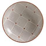 Prato Fundo Porto Brasil Cerâmica Coup Geometria 21CM - 32761