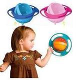 Prato Giratório Infantil Magico Não Derrama A Comida Gyro Bowl Pratinho Do Bebê