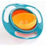 Prato giratorio tigela infantil pratinho magico não derrama a comida gyro bowl pratinho do bebe - Makeda