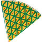 Prato para Pizza de Melamina Triangular 22cm CV151667 Pedaços - Casa  video