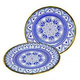 Prato para Sobremesa Linha Mandala Mimo STYLE MS22N 6029