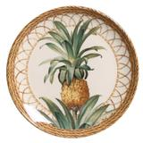 Prato Sobremesa Pineapple Natural 20,5cm (6 Unidades) - Morar chic