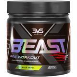 Pré-treino beast (300g) sabor maçã verde -  3vs nutrition