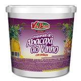 Preparado de abacaxi ao vinho com pedaços vabene 1,1 kg - Novasafra