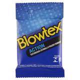 Preservativo Blowtex Action c/ 3 Unidades - Fabrica de artefatos de latex blowtex lt