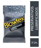 Preservativo Blowtex Lubrificado  c/ 3 Unidades