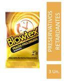 Preservativo Blowtex Retardante c/ 3 Unidades