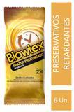 Preservativo Blowtex Retardante c/ 6 Unidades