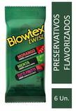 Preservativo Blowtex Twist c/ 6 Unidades