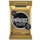 Preservativo celebration sabor vinho espumante prudence