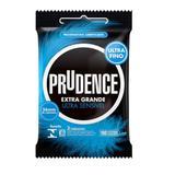 Preservativo extra grande e ultra sensivel 3 un prudence - unica - u