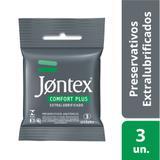 Preservativo Jontex Confort Plus 3 Unidades