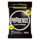 Preservativo Prudence Extra Grande com 3 unidades - Dkt do brasil