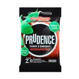 Preservativo Prudence Morangão Com 3 Unidades