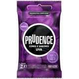 Preservativo Prudence Uva Lubrificado 3 Unidades