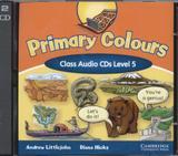 Primary colours class cd 5 (2) - Cambridge audio visual  book teacher