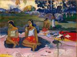 Primavera Sagrada - Gauguin  Tela Grande Para Quadro - Santhatela