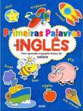 Primeiras palavras em inglês: Para aprender enquanto brinca de colorir - Escala