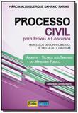 Processo civil para provas e concursos processos d - Impetus