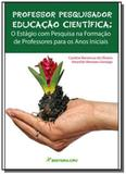 Professor pesquisador educacao cientifica - crv - Editora crv