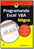 Programando Excel Vba Para Leigos - Alta books
