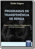 Programas de transferencia de renda atores e polit - Jurua