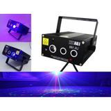 Projetor Holográfico Raios Laser Verde e Vermelho Bivolt com Luz Negra e Sensor de Som Luatek Lk 169