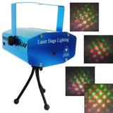 Projetor Laser Holografico Efeitos Luzes Festas Natal Strobo Canhao (888645) - Ideal