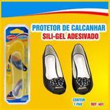 Protetor de Calcanhar - Silicone - Adesiva - Transparente - Macia - Qualype